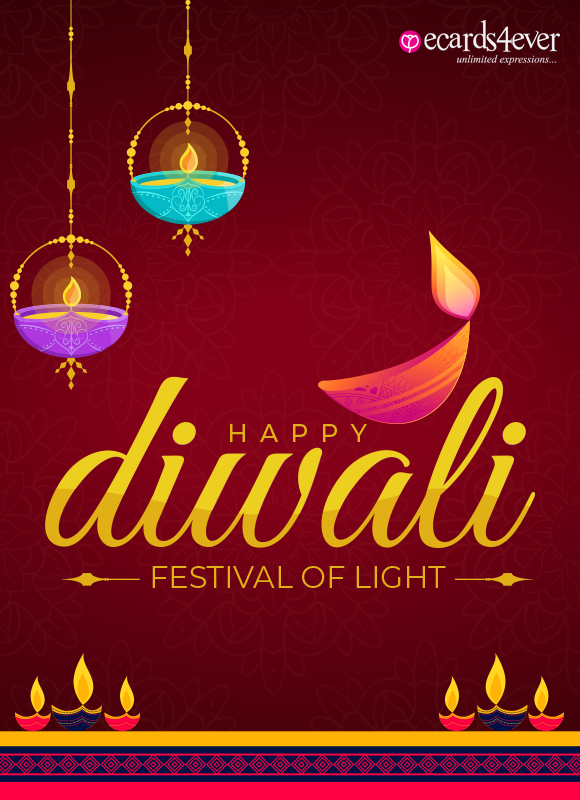 Happy Diwali to you